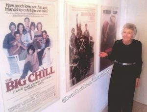 Marcia Nasatir standing next to some of the most successful movies in the history of Hollywood. Photo by: DemiGoddessChronicle.com