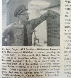 Dr. Leon Segal. Photo courtesy of the Segal Estate for Demi Goddess Chronicle