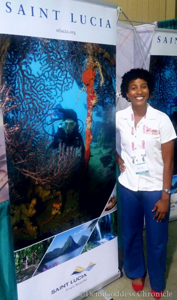 Saint Lucia Marketing Manager Jemima Lorde. Photo credit Demigoddesschronicle.com