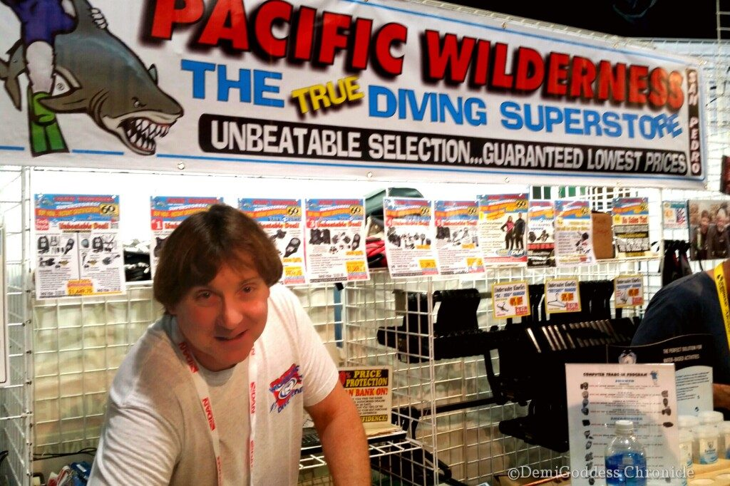 Bob Nimmo is the go to guy for deals at the Pacific Wilderness Superstore in San Pedro. Photo by Demigoddesschronicle.com