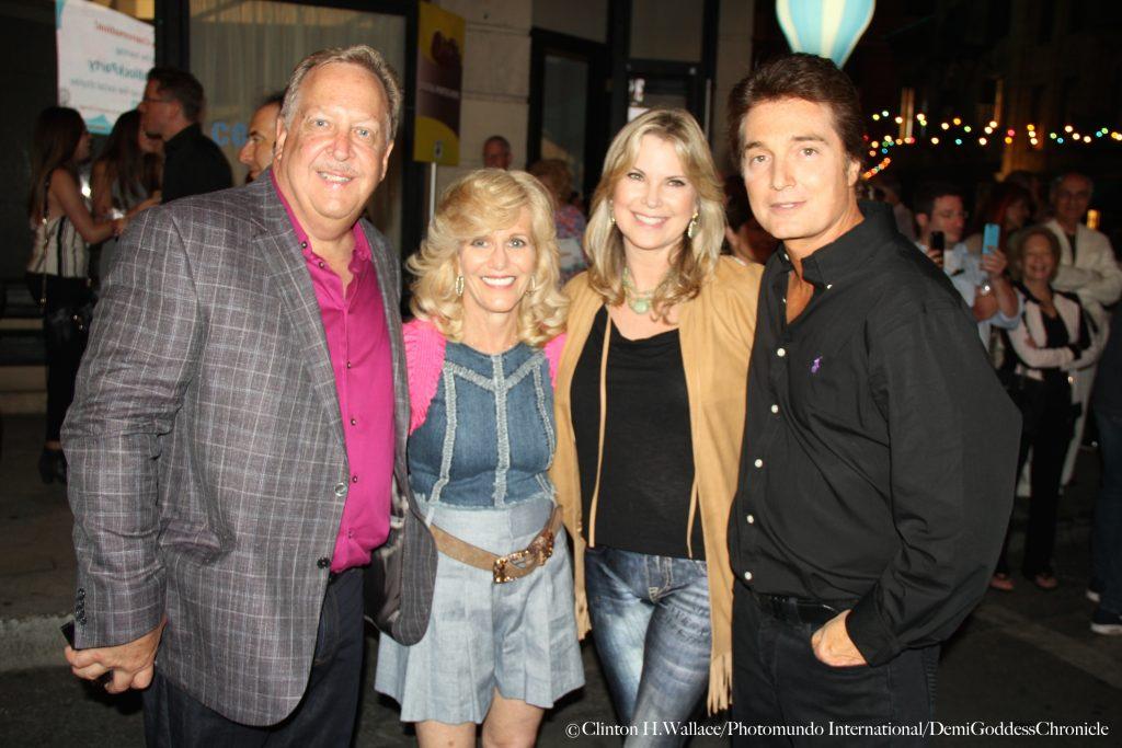Barry Brucker, Sue Brucker, Rebecca Grossman and Dr. Peter Grossman. Photo credit: Clinton H. Wallace for DemiGoddessChronicle.com