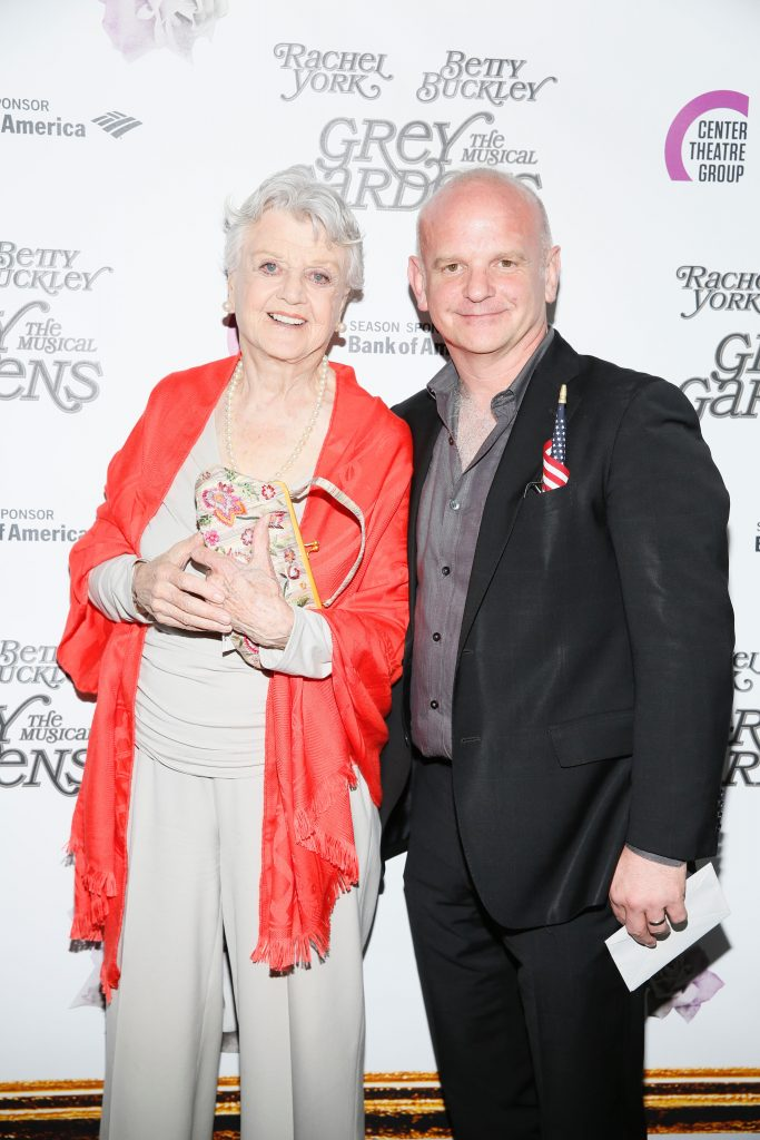 Angela Lansbury and Director Michael Wilson. Photo by Ryan Miller/Capture Imaging for DemiGoddessChronicle.com