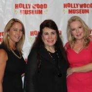 Hollywood Museum Founder Donelle Dadigan (middle) with Erin Murphy and Kym Karath. Photo credit Dan Kennedy/DemiGoddessChronicle.com