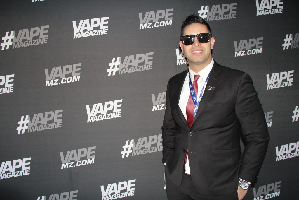 Vape Magazine VP Jon Laverde. Photo credit Clinton H. Wallace/DemiGoddessChronicle.com