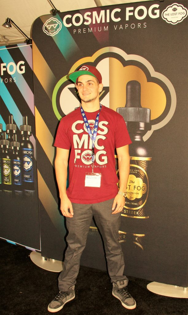 Rob of Cosmic Fog Premium Vapors. Photo credit Clinton H. Wallace/DemiGoddessChronicle.com