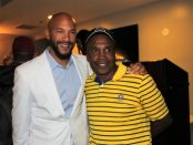 Stephen Bishop and Sugar Ray Leonard. Photo By: DemiGoddessChronicle.com