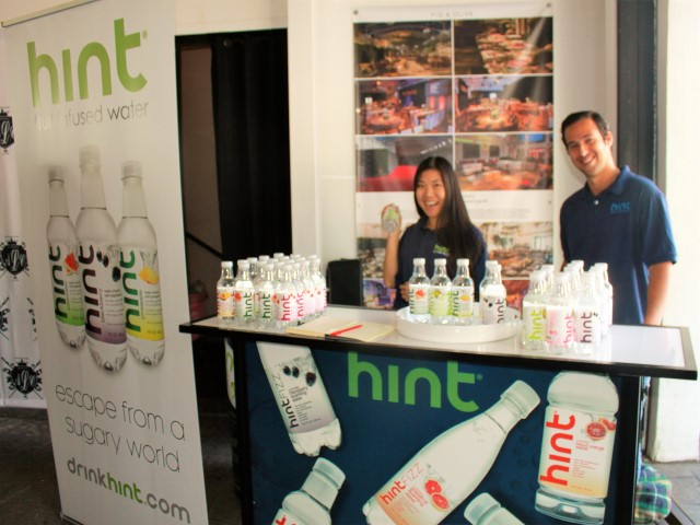 Hint Water Brand Ambassadors Tiffany Joe and Bryan David Roberts. Photo credit: DemiGoddessChronicle.com
