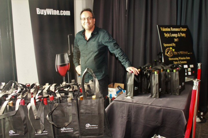BuyWine.com rep Zeke Quezada. Photo credit: DemiGoddessChronicle.com