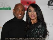 "Montel Williams and Bonita ""Bo"" Money.  PHOTO CREDIT: Donna Dymally Photography"