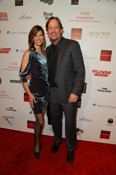 Kevin Sorbo and wife. Photo Credit: William Kidston