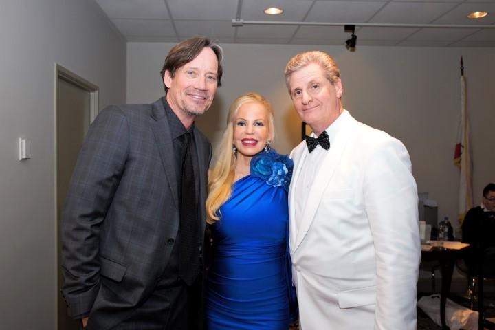 Kevin Sorbo, Brenda and Roger Neal. Photo Credit: William Kidston