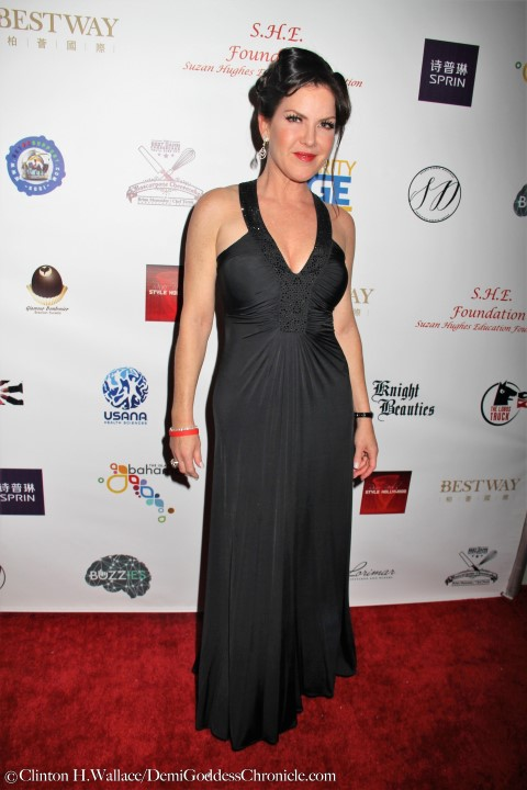 Actress Kira Reed Lorsch. Photo credit: ClintonH.Wallace/DemiGoddessChronicle.com