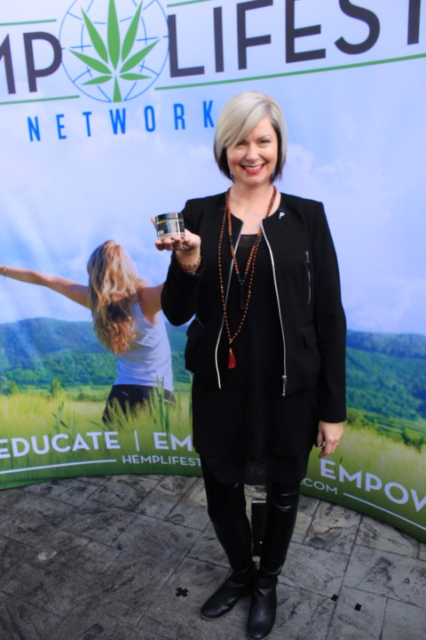 Hemp Lifestyle Network Owner Melissa Temple-Agosta. Photo Credit: DGC