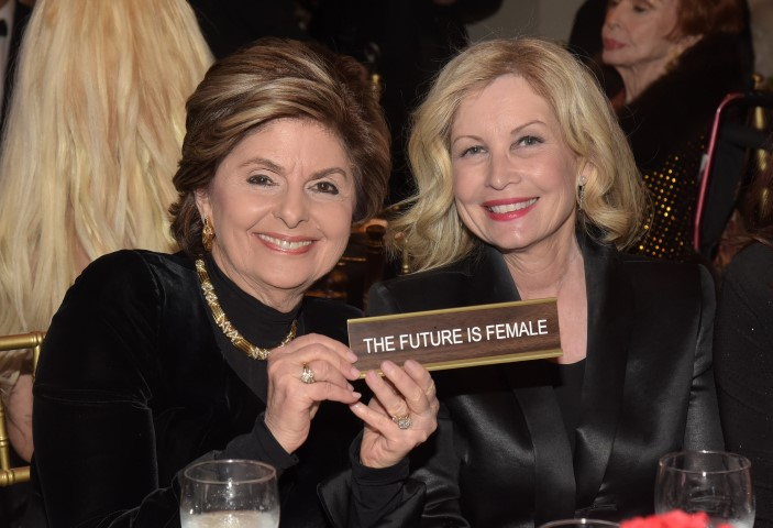 Gloria Allred and Katherine Fugate. Photo credit: William Kidston Photography