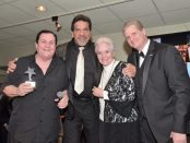 Burt Ward, Lou Ferrigno, Lee Meriwether and Roger Neal. Photo credit: William Kidston Photography