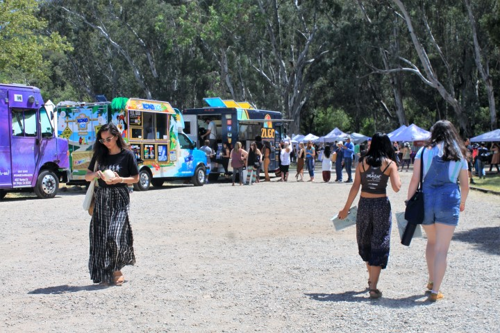 Plenty of food trucks and drink stations for attendees. Photo credit: DemiGoddessChronicle.com