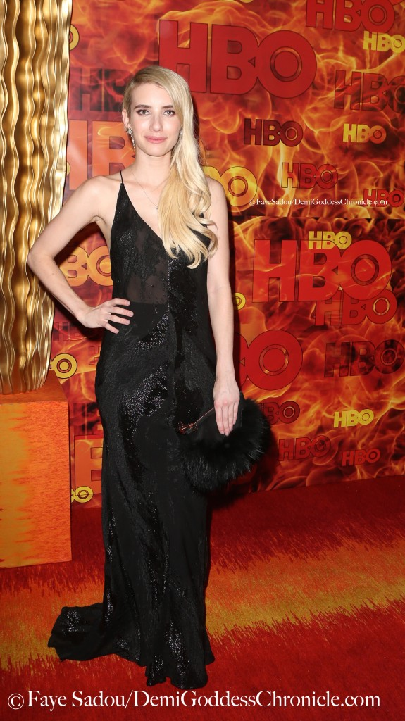 Emma Roberts Attend HBO's Official 2015 Emmy After-Party. Faye Sadou / DemiGoddessChronicle.com