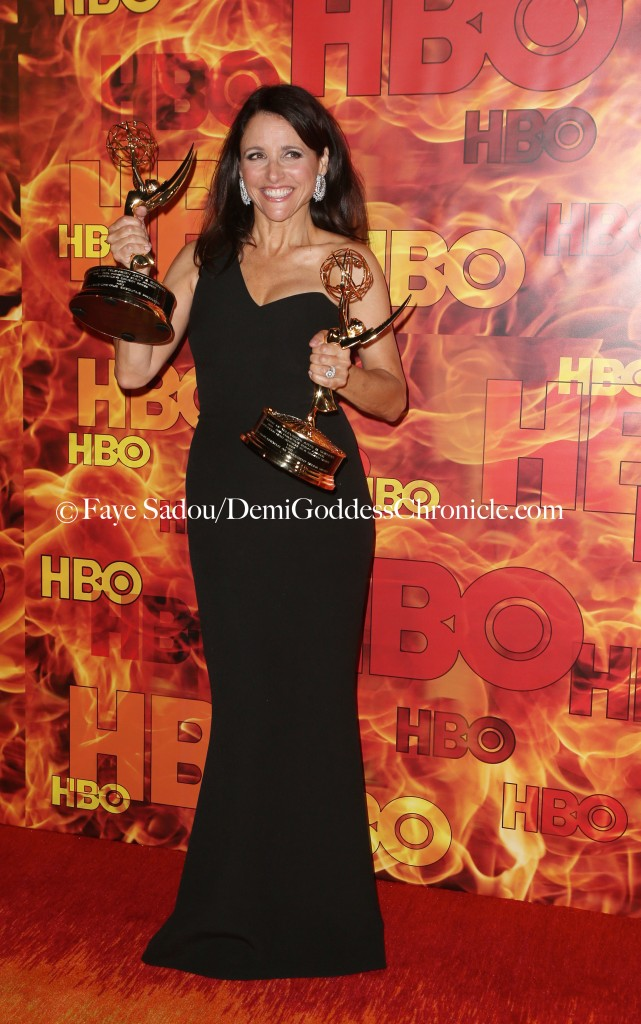 Julia Louis-Dreyfus Attend HBO's Official 2015 Emmy After Party At Pacific Design Center