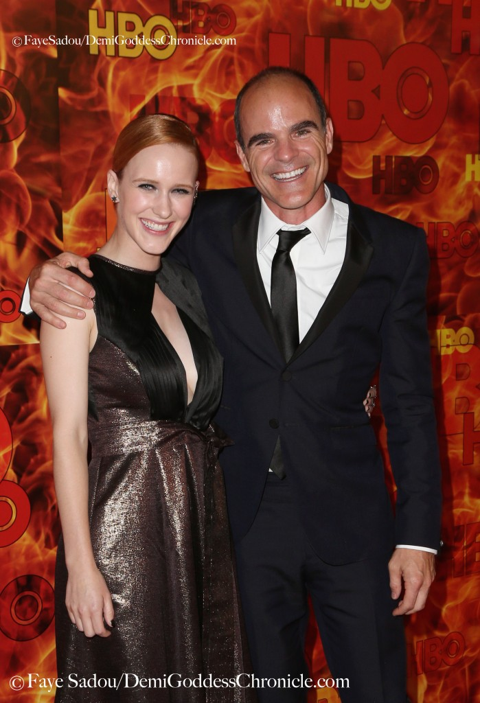 Rachel Brosnahan and Michael Kelly Attend HBO's Official 2015 Emmy After -Party  Photo Credit: Faye Sadou / DemiGoddessChronicle.com