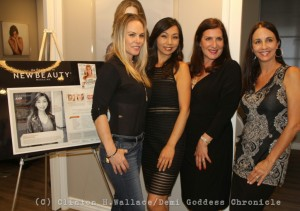 Filmmaker Christy Oldham and The Image Center Team. Photo Credit: Clinton H. Wallace/DemiGoddess Chronicle