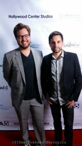 """""""Moments in the Sun"""" director GregoryKasunich and editor Gene Micofsky. Photo Credit: DemiGoddess Chronicle"""