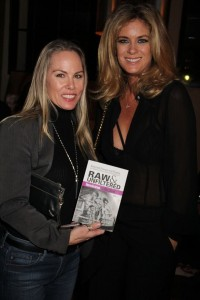 Filmmaker Christy Oldham and Rachel Hunter. ©Clinton H.Wallace/DemigoddessChronicle/Photomundo International, all rights reserved