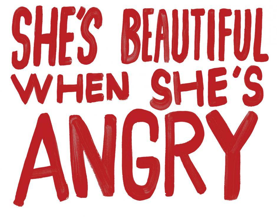 Photo courtesy of 'She's Beautiful When She's Angry' movie on Facebook