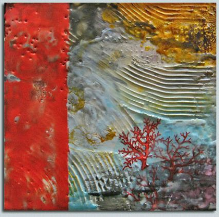 Beneath the Sea by artist and WPW member Vickie Hoffman. Photo courtesy of WPW