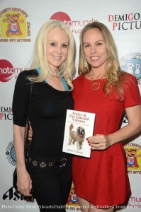 Actress/Producer Donna Spangler and Christy Oldham. Photo credit: David Edwards/DailyCeleb.com for DemiGoddessChronicle.com