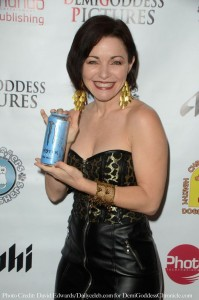 Actress Shanna Forrestall models with Monster Energy. Photo credit: David Edwards/DailyCeleb.com for DemiGoddessChronicle.com