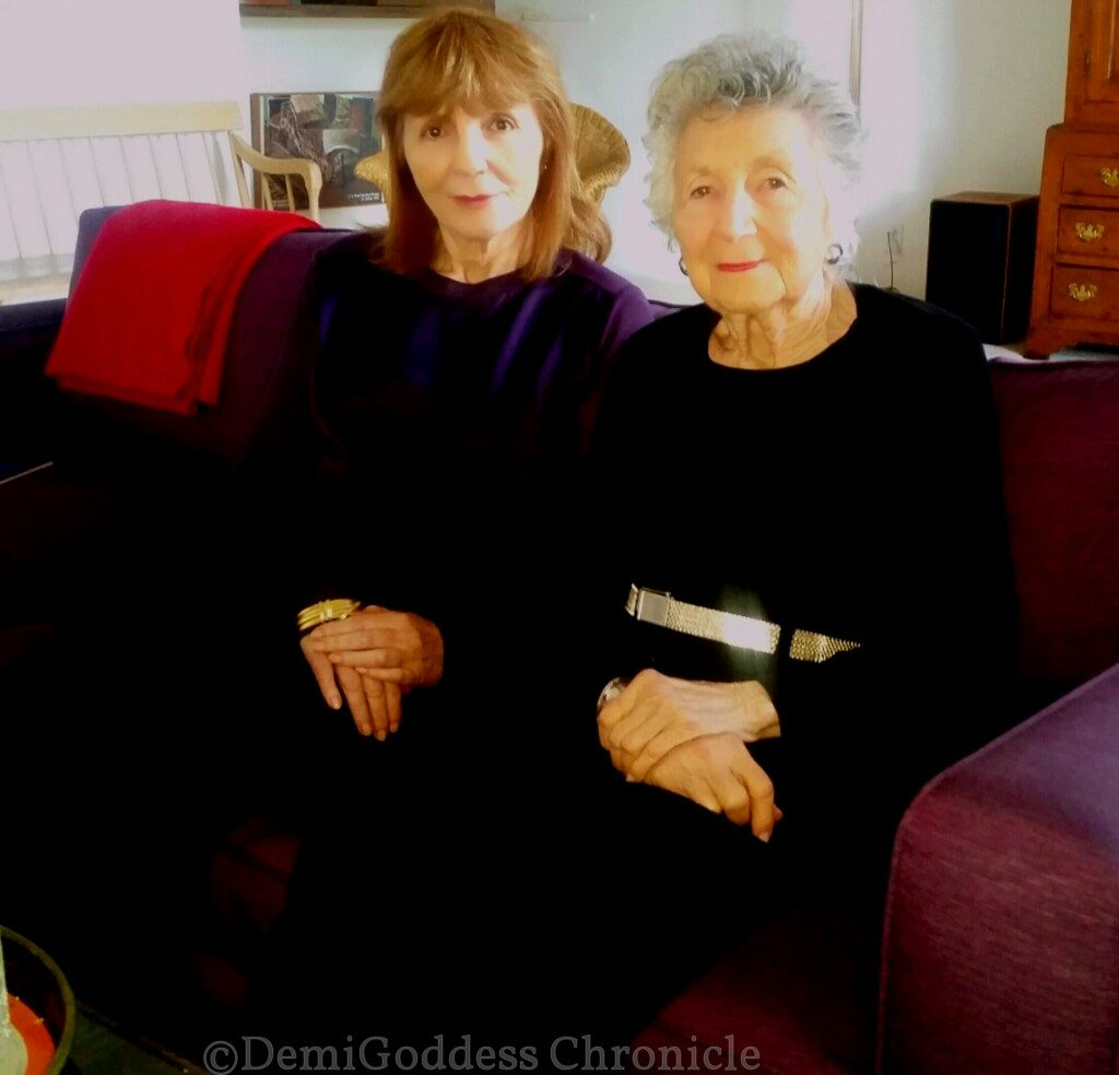 Anne Goursaud and Marcia Nasatir. Photo by: Christy Oldham for DemiGoddessChronicle.com