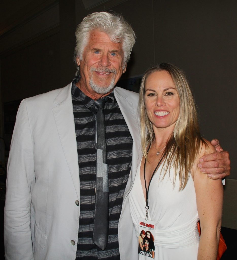 The Rocky Horror Picture Show actor Barry Bostwick and Christy Oldham