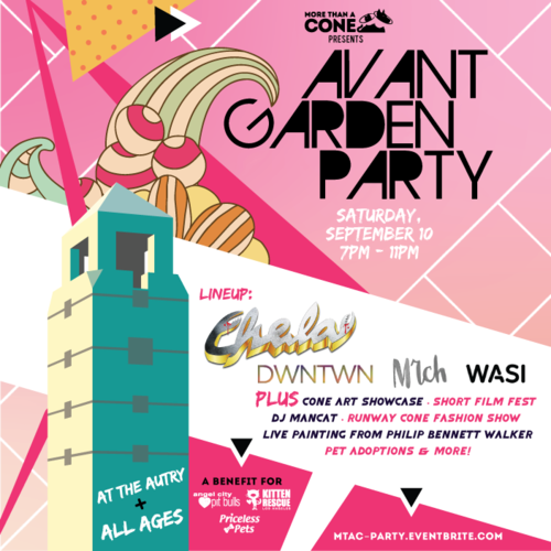 More Than A Cone's Avant Garden Party at The AUTRY, Sponsored by VCA