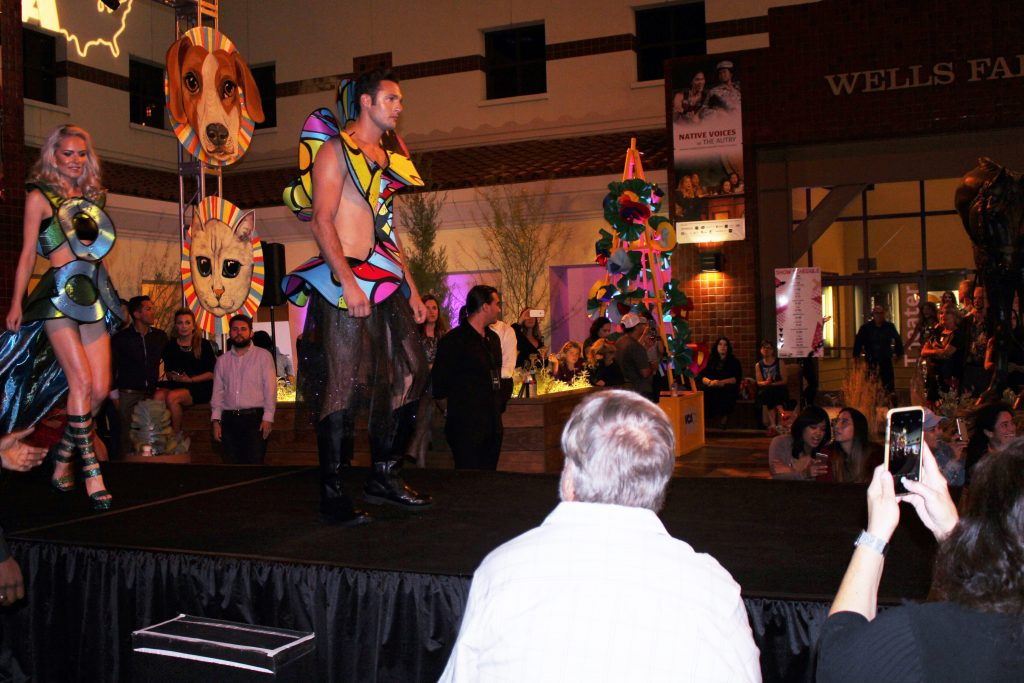 Runway Show with Aston Models wearing Bill Rangel Fashion. Photo credit: Anjanae Blackburn/DemiGoddessChronicle.com