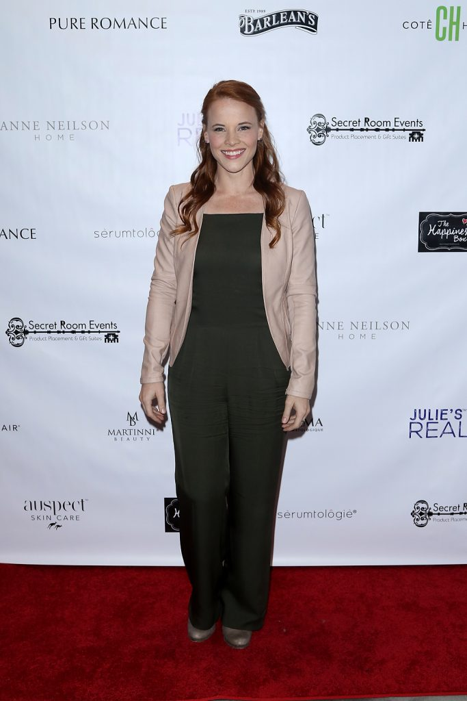 Katie Leclerc at Golden Globes Gifting Suite presented by Secret Room Events held at SLS Hotel on January 06, 2017 in Beverly Hills, California, United States (Photo by JC Olivera)