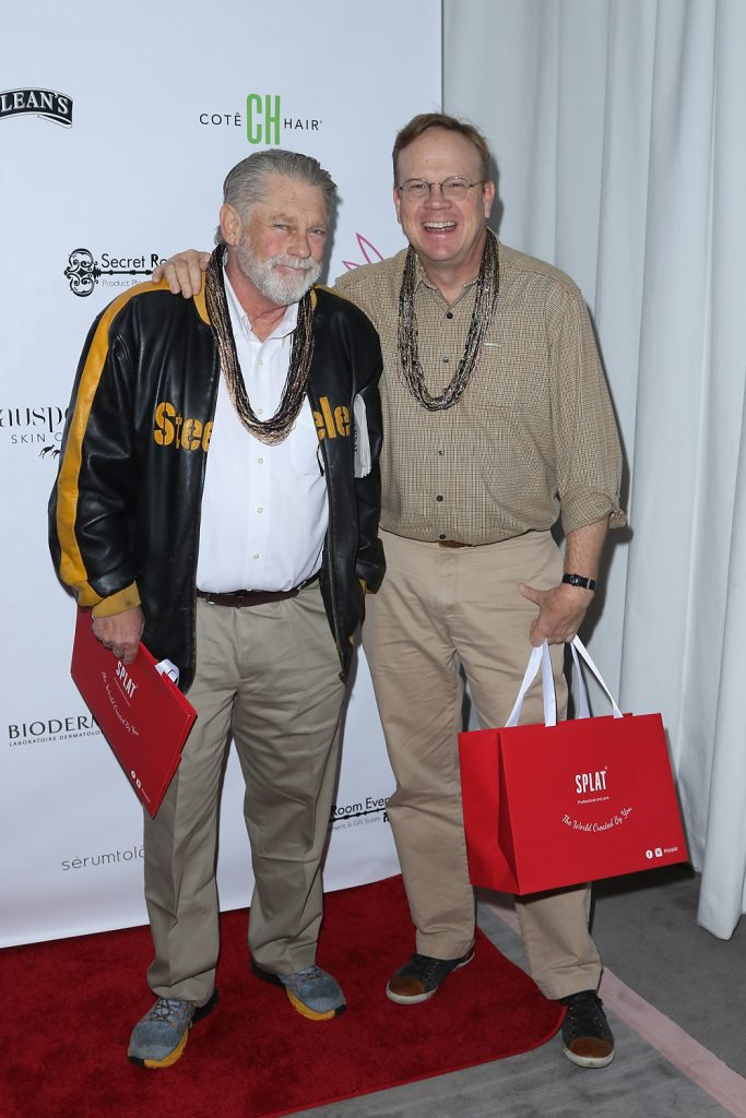 Peter Mackenzie and Graham Beckel at Golden Globes Gifting Suite presented by Secret Room Events held at SLS Hotel on January 06, 2017 in Beverly Hills, California, United States (Photo by JC Olivera)