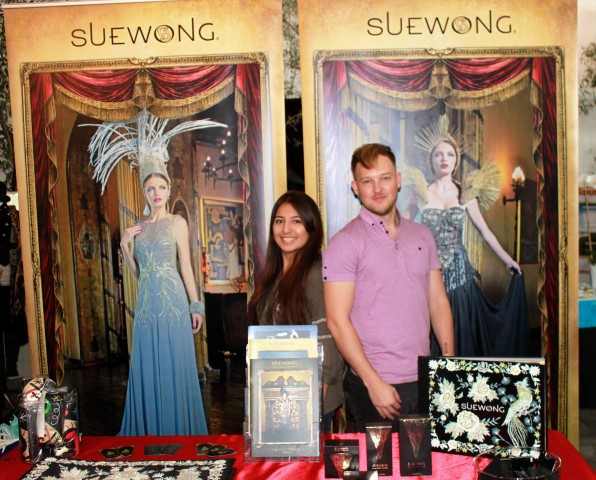 Executive Assistant Connie Cruz and Andrew Bos. Photo credit: DemiGoddessChronicle.com