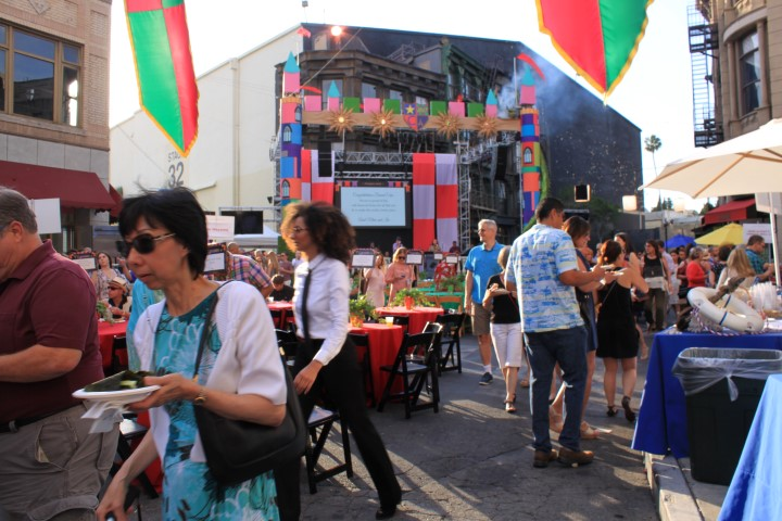 Delicious feasts and tasty drinks around every corner of this years Concern Foundation Block Party. See you next year! Photo credit: DemiGoddessChronicle.com