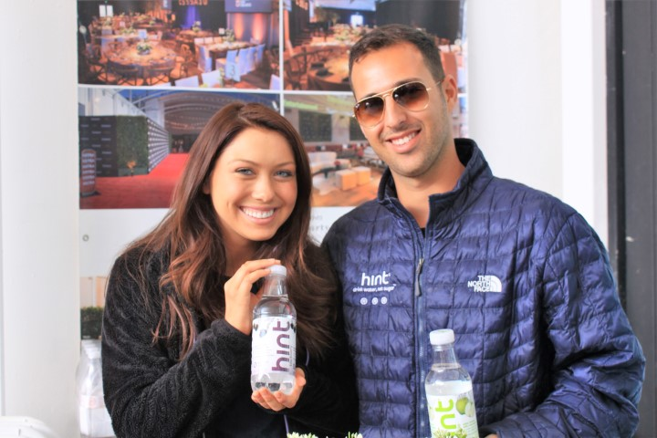 HINT water reps Bryan David Roberts and female Comedian Big Berniee. Photo Credit: DGC
