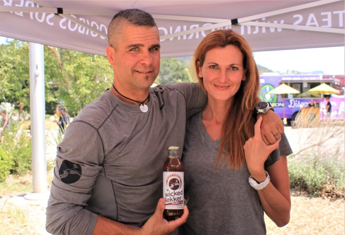 Wicked Lekker Rooibos Tea Founders Mylan Janoplis & Pamela Stahl. Photo credit: DemiGoddessChronicle.com
